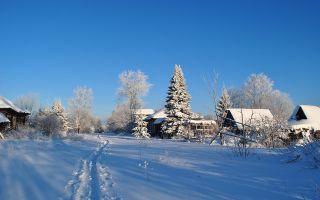 Зима. Что делать нам в деревне? (Пушкин)