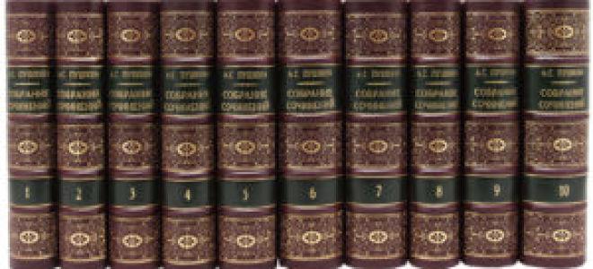 Самые знаменитые произведения Пушкина