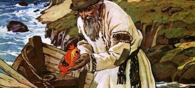 Главные герои «Сказки о рыбаке и рыбке»