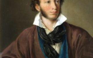 Важные даты жизни и творчества Пушкина