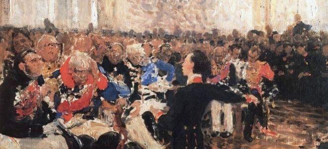 «Воспоминания в Царском Селе» («Навис покров угрюмой нощи…») — анализ стихотворения Пушкина