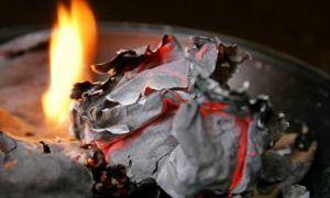 Сожженное письмо