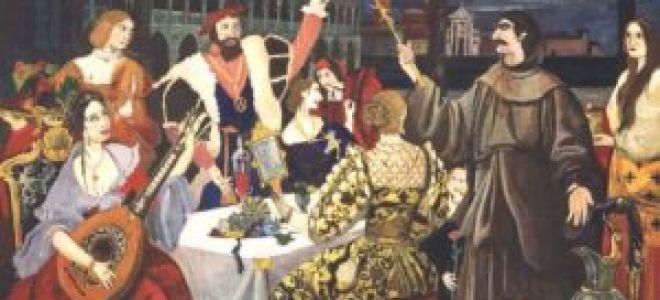 «Пир во время чумы» (краткое содержание)