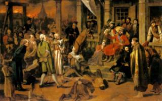 Пугачев и народ в «Капитанской дочке»