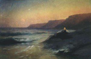 Картина Айвазовского Пушкин на берегу Черного моря