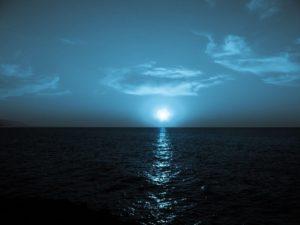Море ночью
