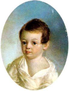 Пушкин в детстве