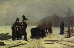 Дуэль на черной речке картина