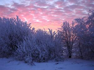 Зимние тучи