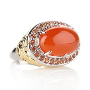 Перстень с сердоликом
