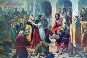 Картина Суд Пугачева