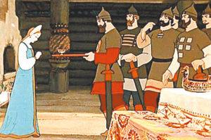 Сказка о мертвой царевне и семи богатырях мультфильм