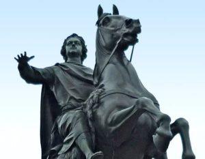 Памятник Петр 1 в Петербурге