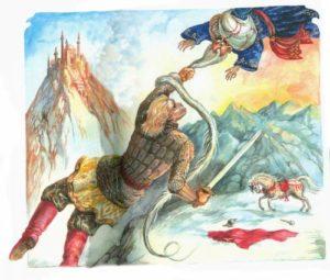 Поединок Руслана с Черномором