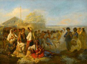 Цыганский табор