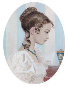 Татьяна Ларина портрет
