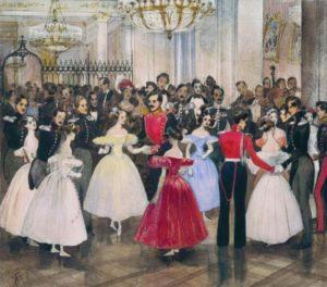 Дворянский бал в Москве