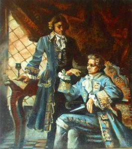 Сальери с Моцартом